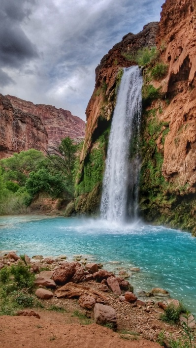 Havasu Falls up close and personal