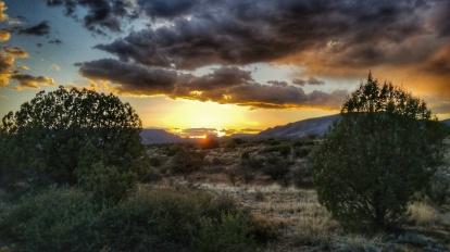Non ominous sunset
